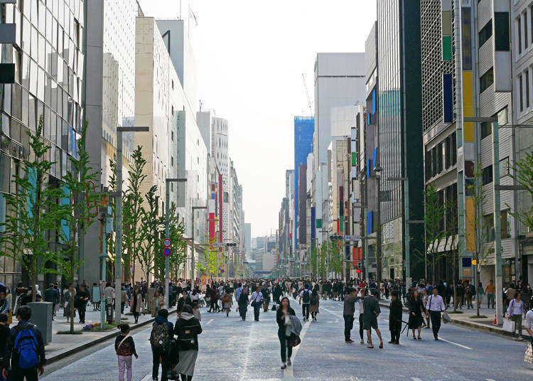 Ginza Station Guide: How to Get There & Recommended Sightseeing Spots Nearby