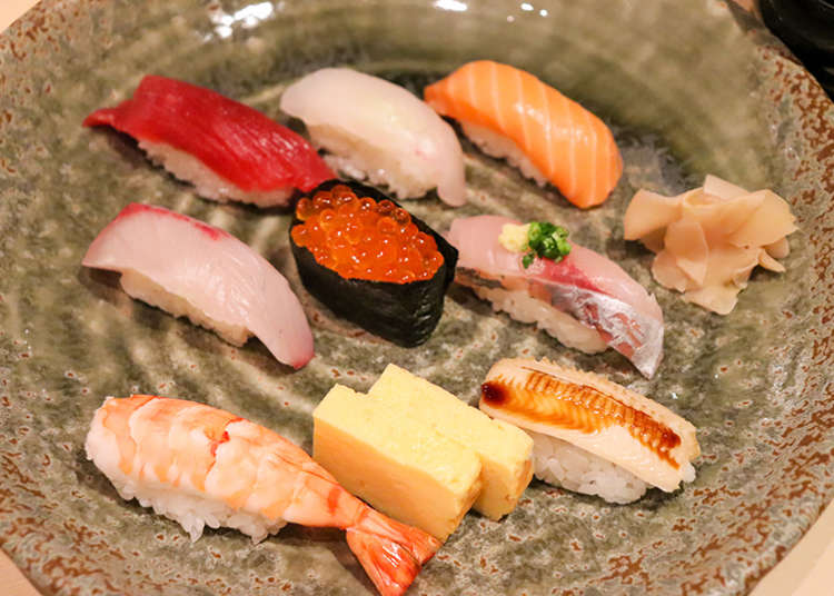 Lunch in Matsuya Ginza: Our 3 Top Picks for Sushi, Unagi, and Tempura!