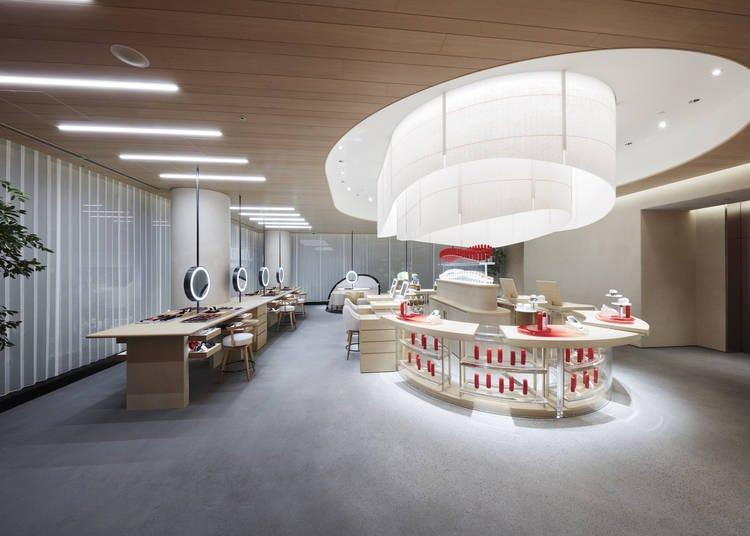 银座SHISEIDO旗舰店2楼:让专家亲自钦点你的美丽