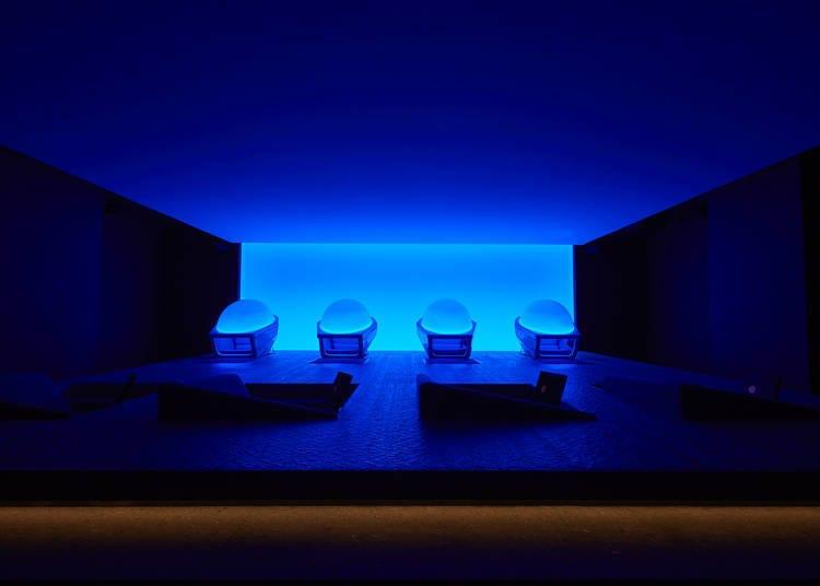 银座SHISEIDO旗舰店地下1楼:洗净身心灵的治愈空间