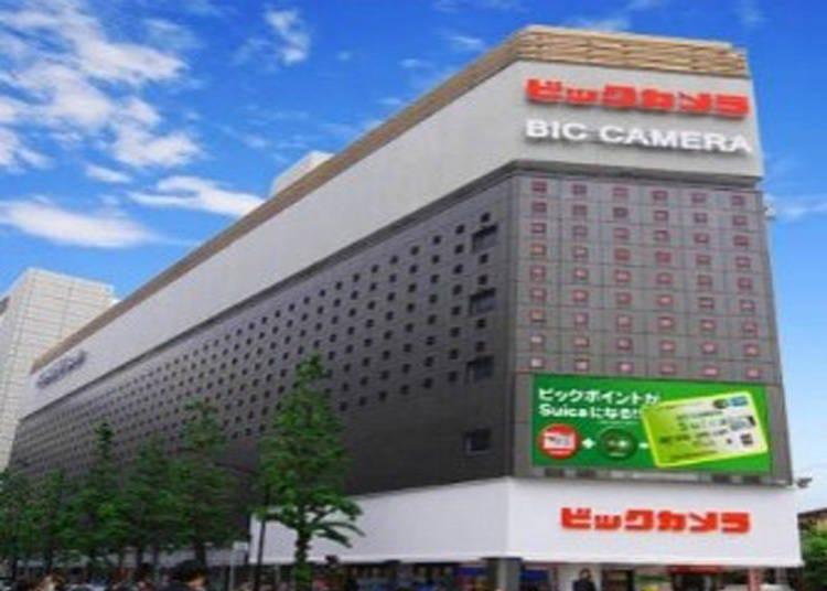 银座・有乐町药妆店①与BicCamera并设的「有乐町BIC DRUG」