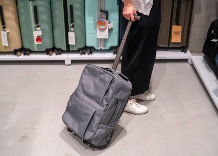 银座Loft行李箱①6种拿法随心所欲「SPASSO SEPARETOR 多用途后背行李箱」