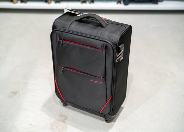 銀座Loft行李箱②世界最輕且耐用的優秀行李箱「FLY II」