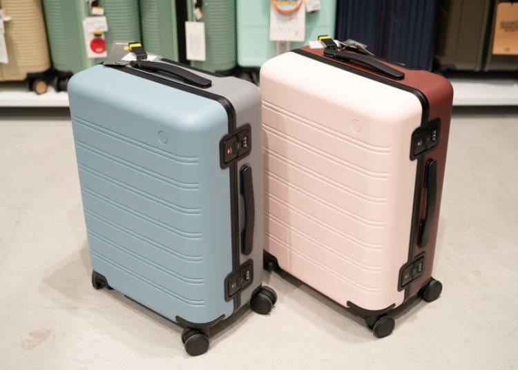 銀座Loft行李箱④粉嫩顏色時髦又兼具高級感的「Manhattan」