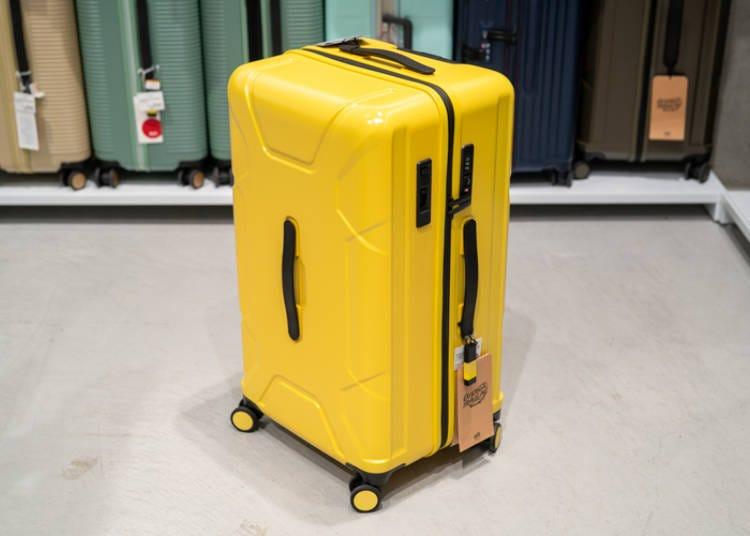 銀座Loft行李箱⑤戶外活動不可或缺的「TRIO運動行李箱」