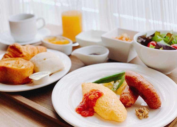 东京银座绝品饭店早餐3选,让你不惜早起也要吃!