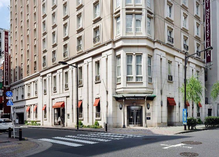 東京銀座飯店早餐②豐盛的美式早餐「銀座蒙特利酒店」
