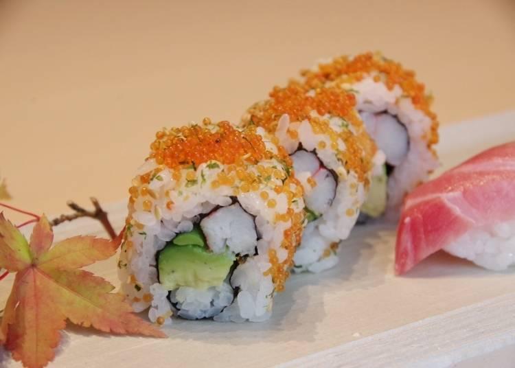Fukusuke/Horikawa invented the California roll!