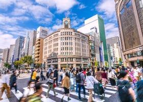 도쿄 긴자에서 관광중 외국인들이 놀라는 것?!