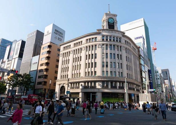 根本就是逛街族群的天堂?观光客在东京银座的好玩新发现