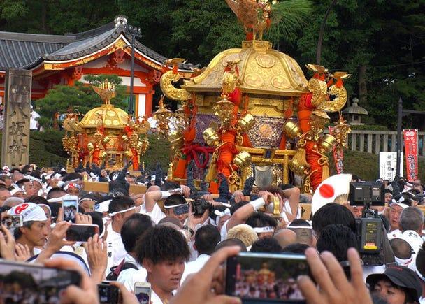 商売のためではなく、文化を守るためにお祭りが行われている!