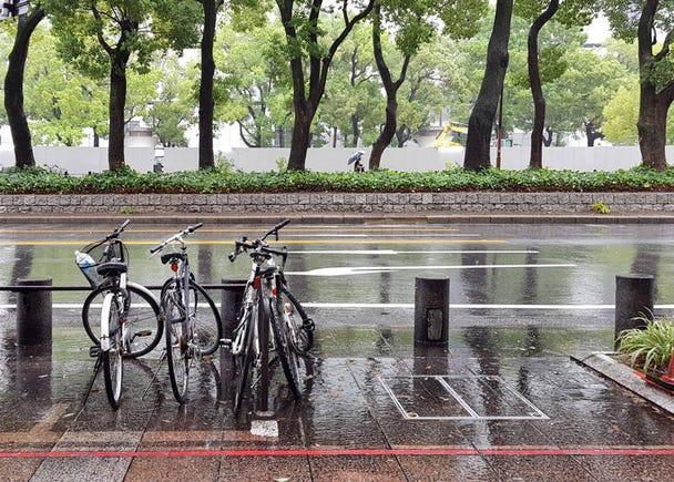 日本人みたいだと思った行動③鍵をかけずに自転車を停めている