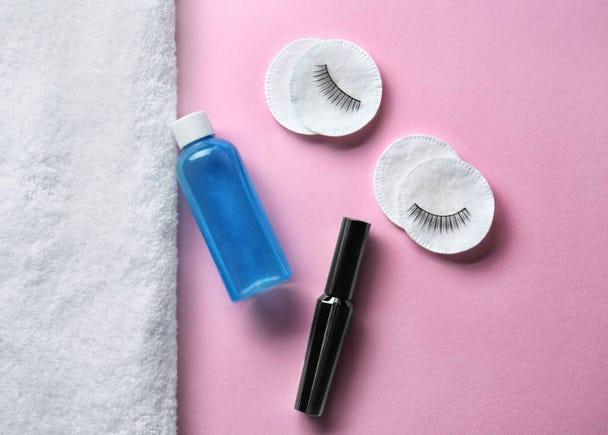 化妝品日文單字-卸妝相關