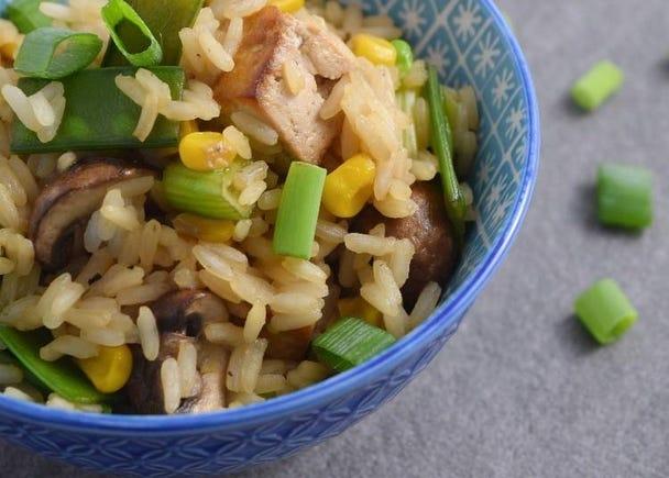 2. Vegan Cha Han