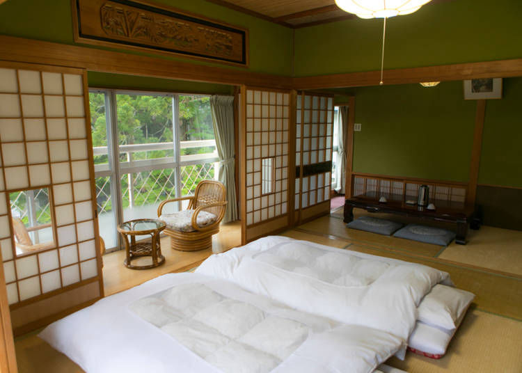 """3. Ryokan: """"I had no idea that rooms are charged by the number of people rather than the room"""""""