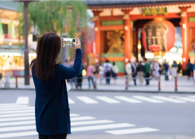 5. Take Pictures at Asakusa's Kaminari-mon