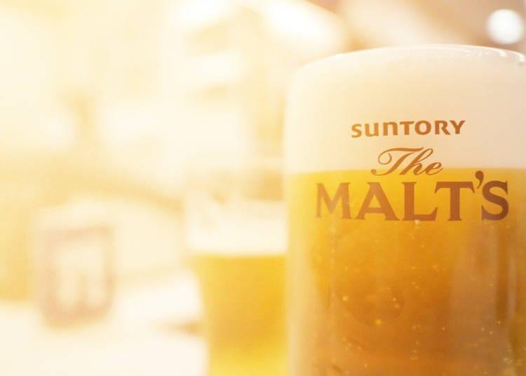 9. Taste Free Beer at Suntory Musashino Brewery