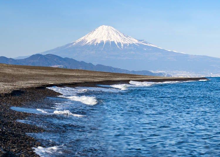 10. Miho Beach & Shizuoka