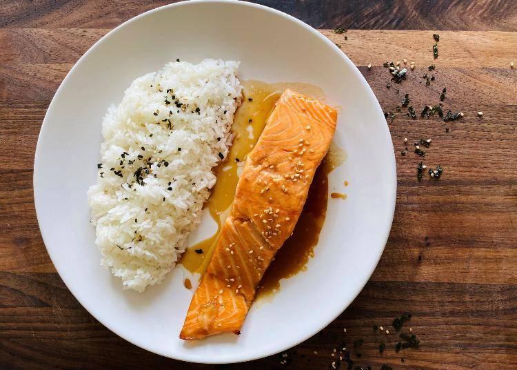2. Baked Salmon Teriyaki
