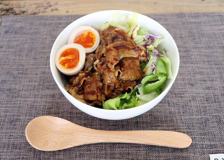 レシピ①:牛カルビ焼肉丼