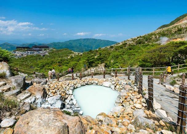 箱根、伊豆、熱海の旅館に泊まって、温泉を満喫したい!