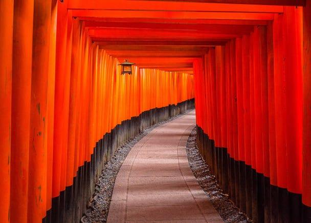 京都の伏見稲荷に行きたい&抹茶パフェも食べたい!