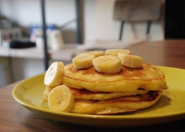 【アメリカ】朝食にぴったり!バナナパンケーキ