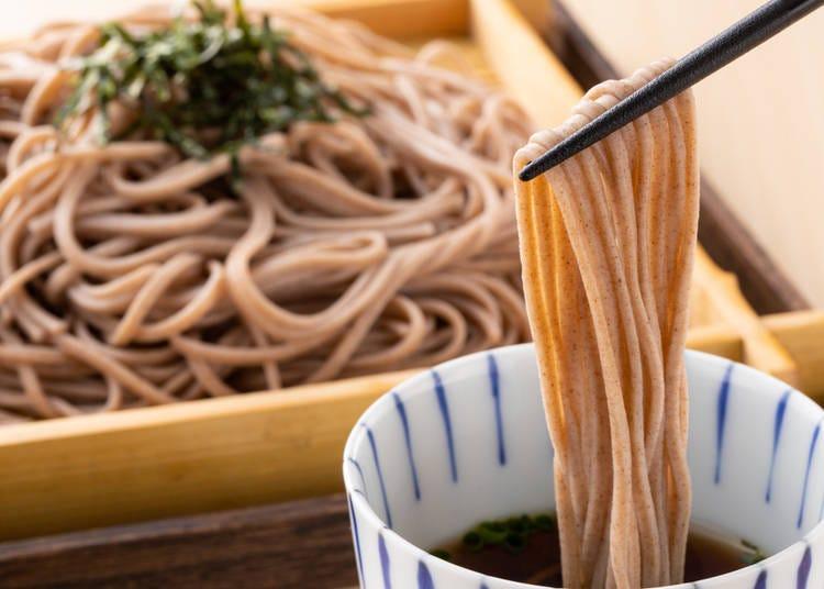 3. Soba (そば or 蕎麦)