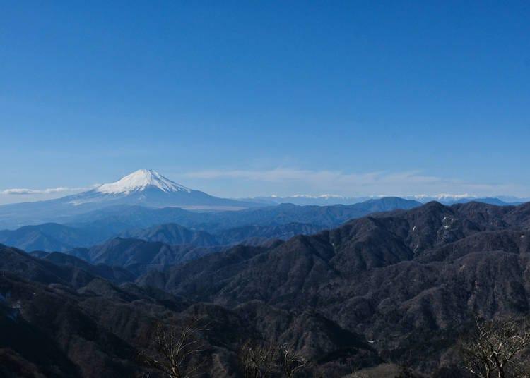 10. Tanzawa Mountains (Kanagawa)
