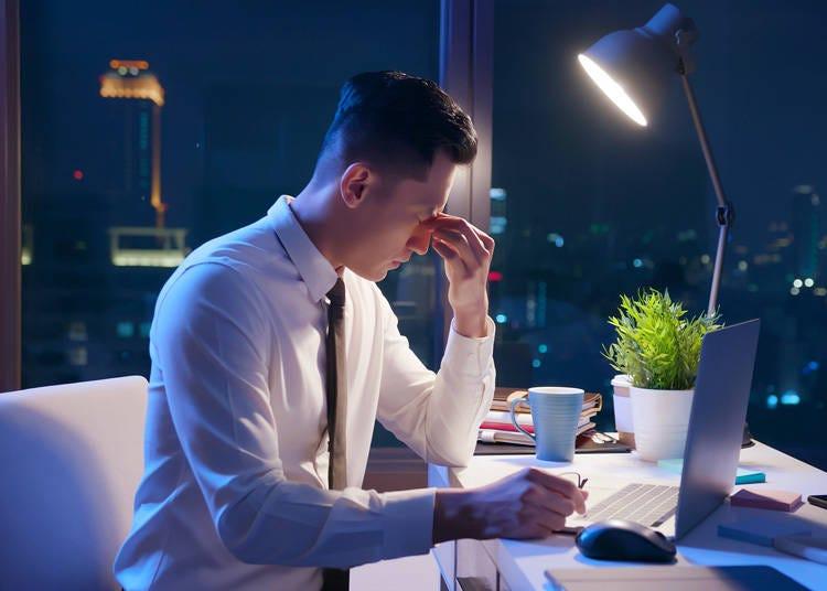 日本人は残業するのが当たり前?