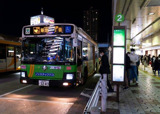 日本の路線バスはいつも静か