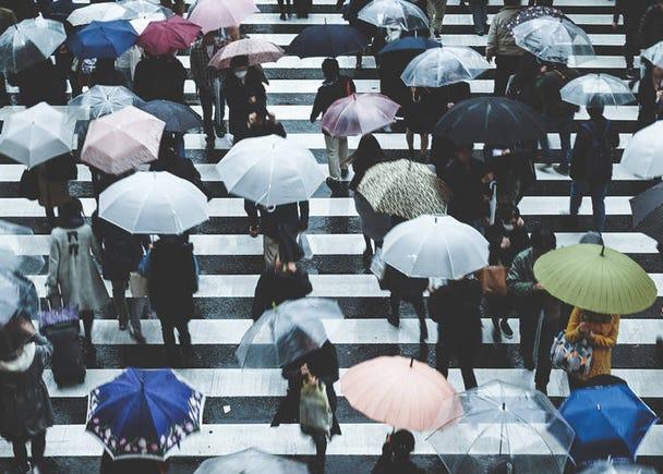 日本の梅雨期間は長い?