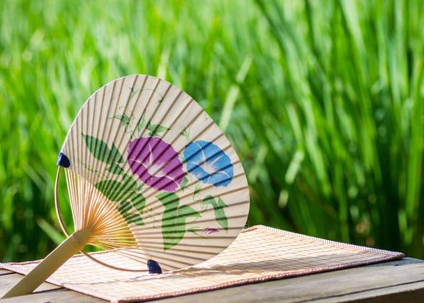 暑さ対策は日本伝統のアレ