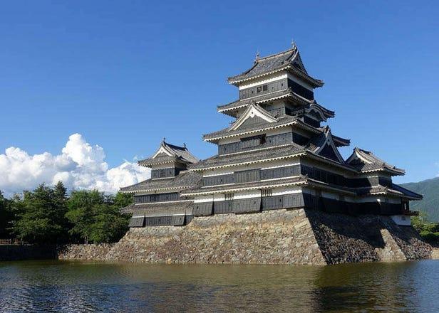 国宝 松本城の徹底ガイド!現存する日本最古の五重天守、見どころや絶景スポットまとめ