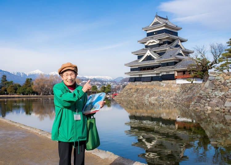 松本城免费导览、客制化解说不可错过!