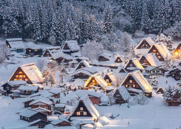 宛如梦中世界!日本中部地区绝美赏雪景点7选