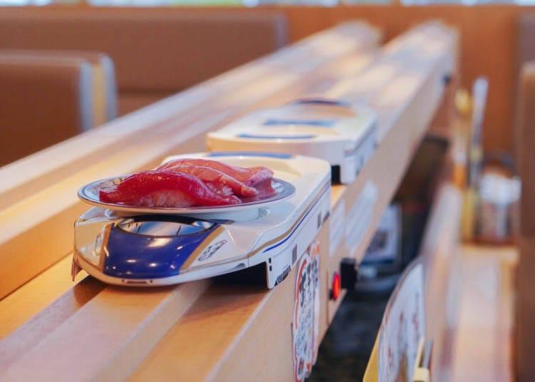 9. KIRARI – Fresh Kanazawa Sushi, Revolving Style!