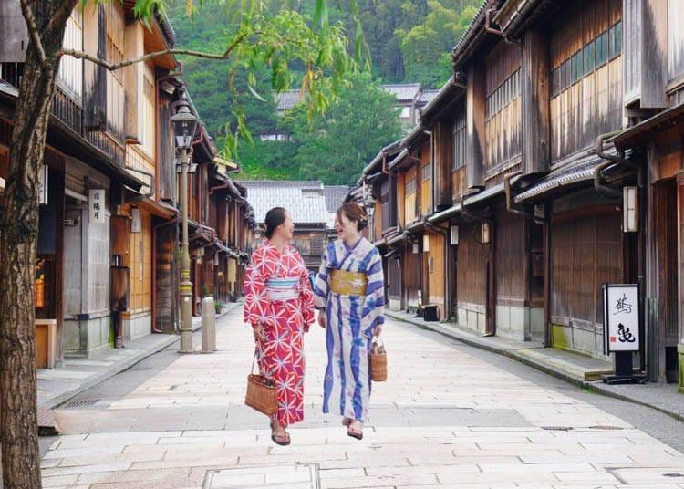 6:茶屋街を散策しながらお茶屋「懐華樓」を見学!