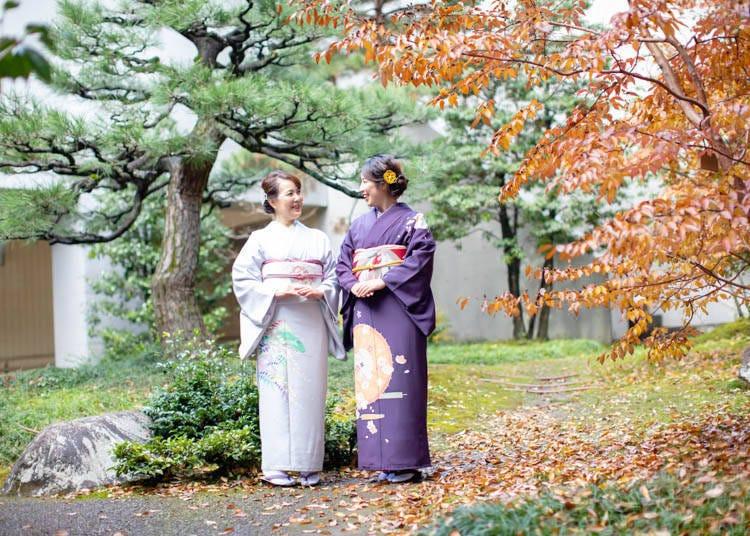 金泽景点①到和服租借店「心结」穿上和服漫步金泽古都!