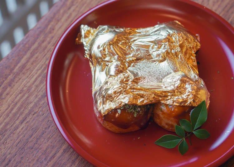 2. Hakuza – Feast on Golden Takoyaki!