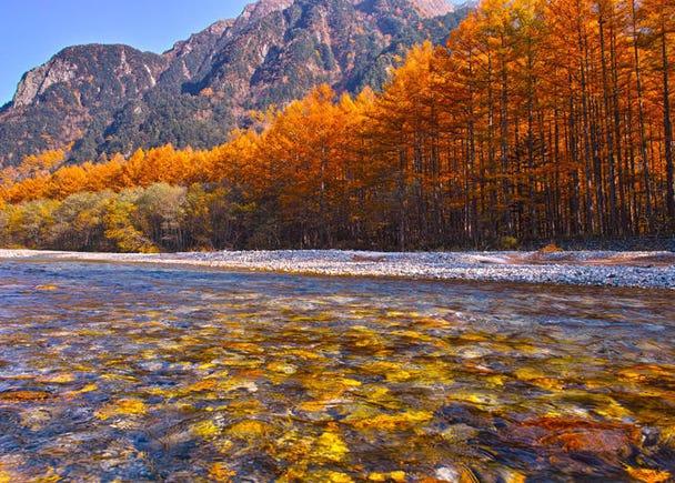 Autumn: Highlights of Kamikochi around October