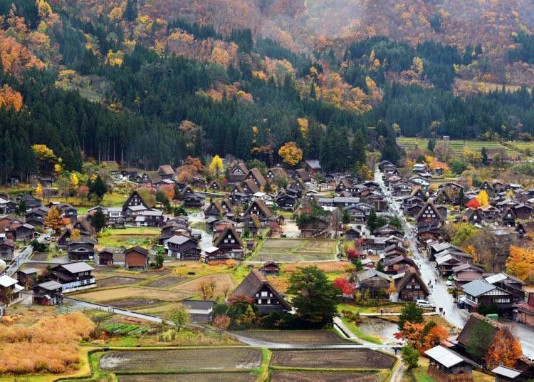 9:30AM: Arrive and enjoy the World Heritage site of Shirakawa-go!