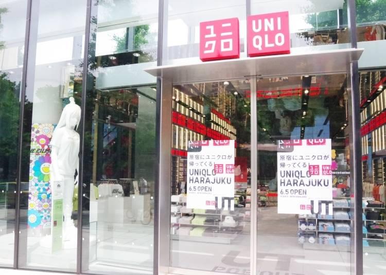 JR「原宿」駅から徒歩1分。ガラス張りの入り口から店内へ