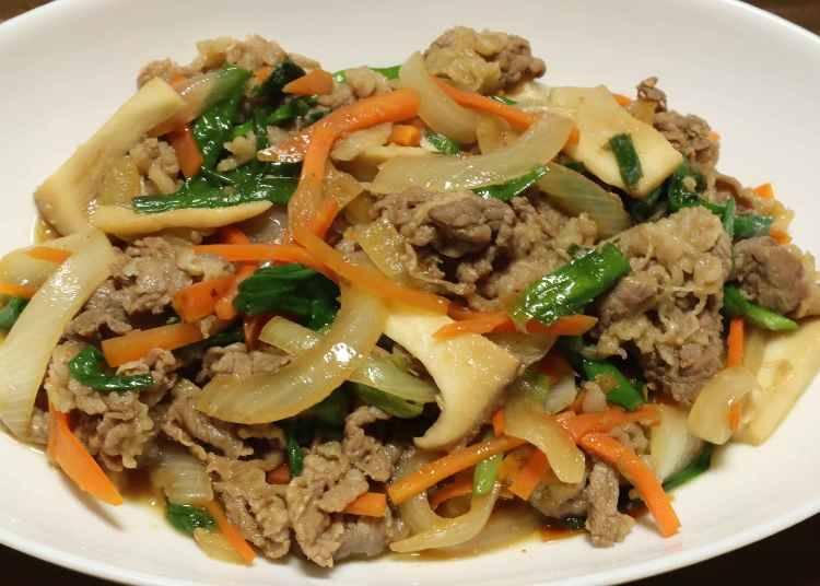 韓国の定番!簡単炒め料理「プルコギ」