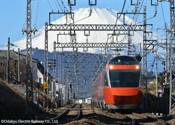 Odakyu Electric Railway: Odakyu Limited Express Romancecar GSE