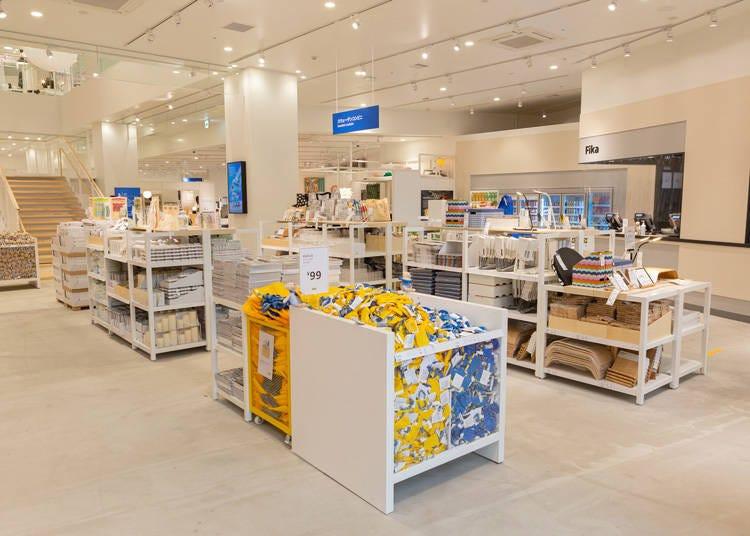 グローバルでも国内でも初の売り場「スウェーデンコンビニ」