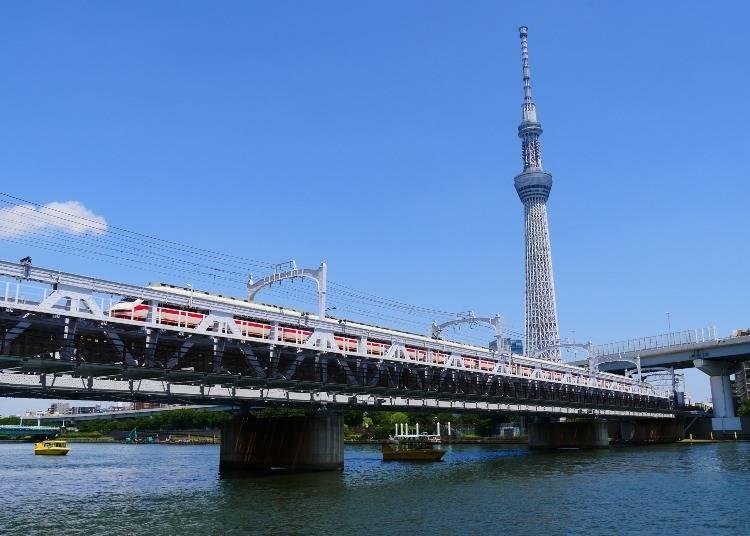 浅草散步到晴空塔:最快速的捷径!隅田川步道「Sumida River Walk」