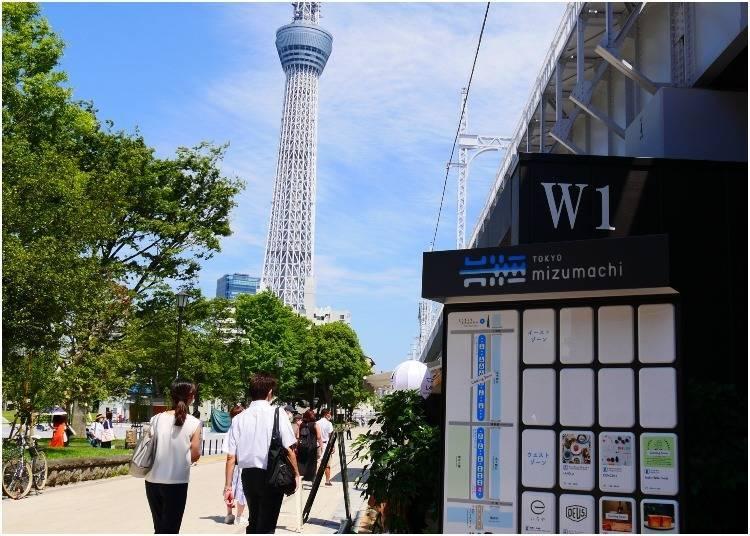 淺草散步到晴空塔:不論日夜都充滿情調的「東京Mizumachi」