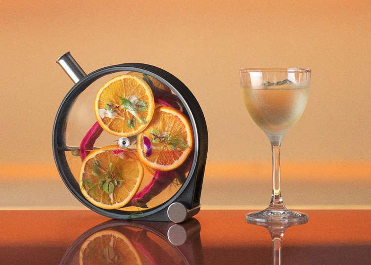 100% 무알코올 바 'O%'가 롯본기에 오픈! 비건 메뉴와 콤부차 등 20종 이상의 음료 제공