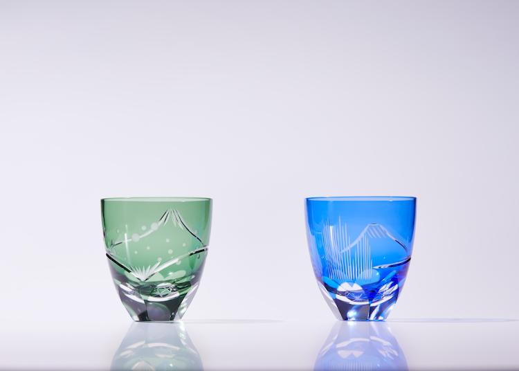 富士山陪你乾一杯!人氣傳統浮世繪化身切子玻璃杯,送禮自用兩相宜